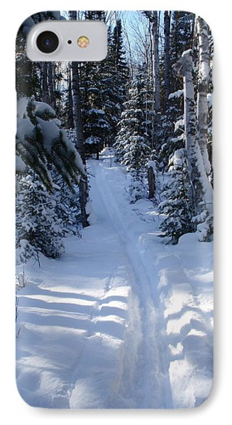 IPhone Case featuring the photograph Out On The Trail by Sandra Updyke