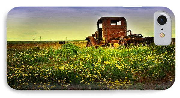 IPhone Case featuring the photograph Out To Pasture by Sonya Lang