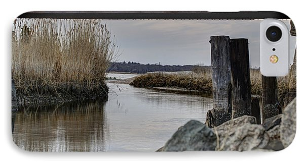 Out To The Bay IPhone Case by Andrew Pacheco