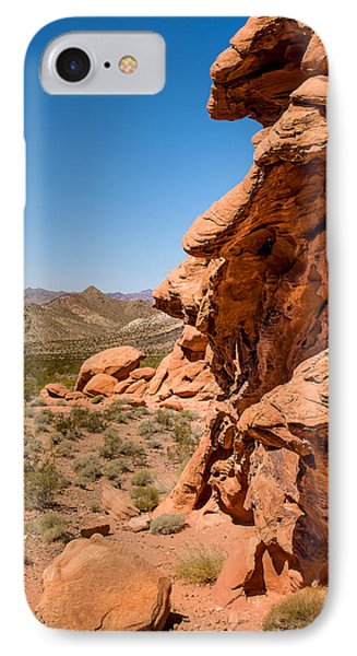 IPhone Case featuring the photograph Outcrop - Valley Of Fire State Park by  Onyonet  Photo Studios