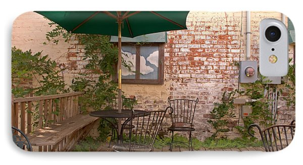 Outdoor Cafe Dining IPhone Case
