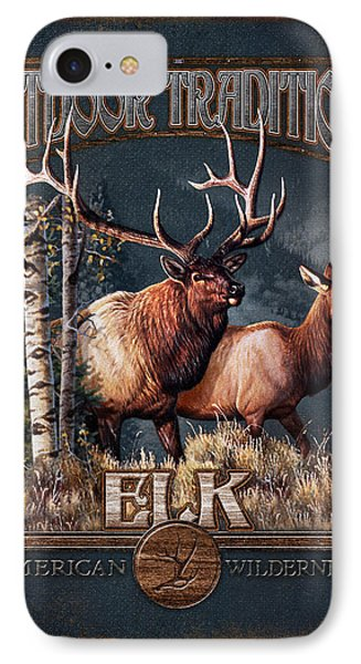 Outdoor Traditions Elk Phone Case by JQ Licensing