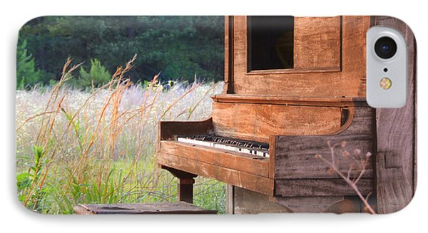 Outdoor Upright Piano IPhone Case