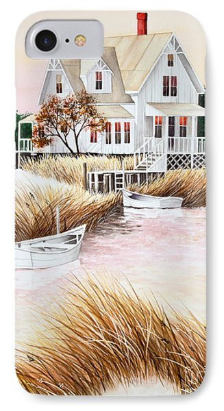 Outer Banks Summer Morning IPhone Case by Michelle Wiarda