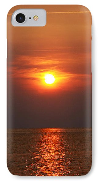 IPhone Case featuring the photograph Outer Banks Sunset by Tony Cooper