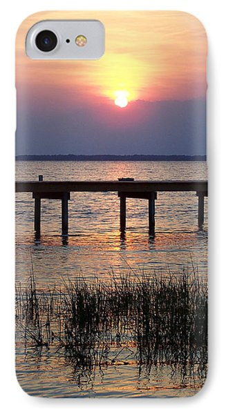 IPhone Case featuring the photograph Outerbanks Nc Sunset by Sandi OReilly