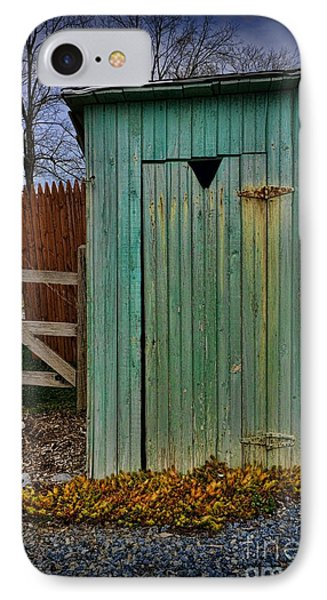 Outhouse - 6 Phone Case by Paul Ward