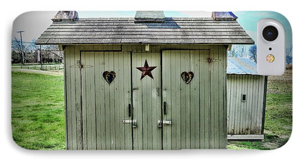 Outhouse - His And Hers Phone Case by Paul Ward