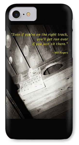 Outhouse Inspiration Will Rogers 1 IPhone Case