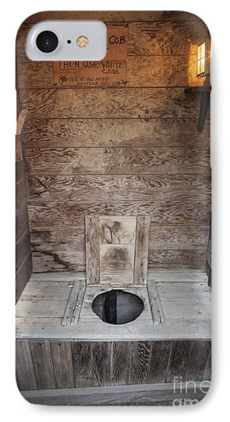 Outhouse Interior IPhone Case