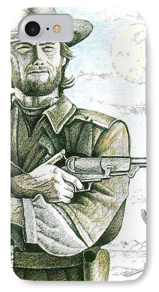 Outlaw Josey Wales IPhone Case by Bern Miller
