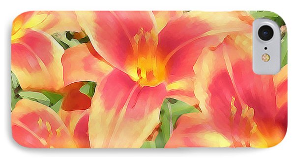 Outrageous Lilies Phone Case by Jean Hall