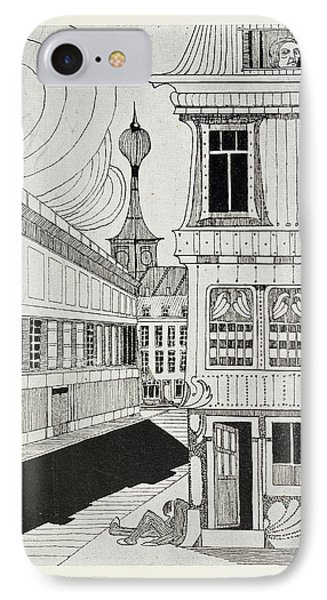 Outside A House IPhone Case by British Library