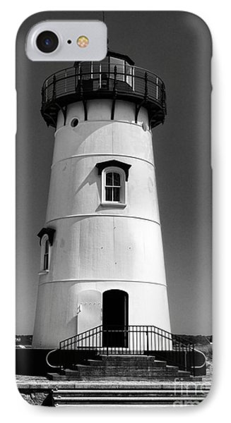 Outside Edgartown Lighthouse IPhone Case by Mark Miller