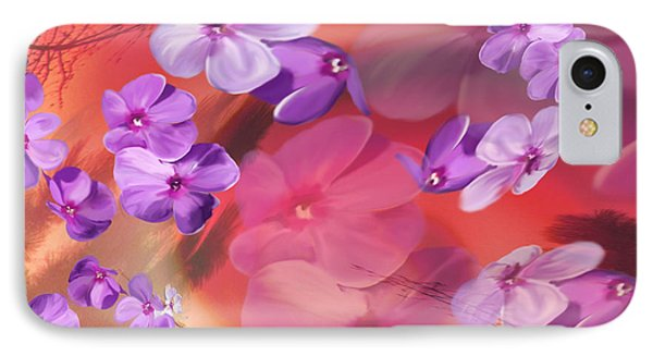 IPhone Case featuring the painting Outside Inspirations by Janie Johnson