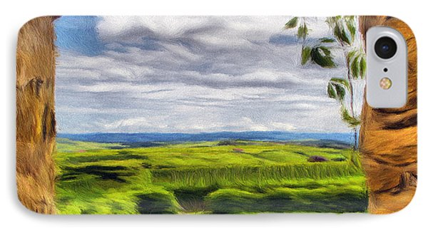 Outside The Fortress Wall Phone Case by Jeff Kolker