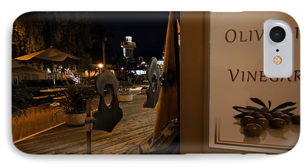 Outside The Oil And Vinegar Shop IPhone Case by Jeremy Farnsworth