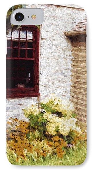 Outside The Window IPhone Case by Jo-Anne Gazo-McKim