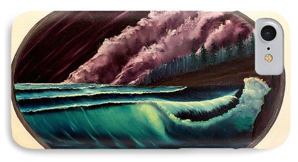 Oval Ocean View Phone Case by Joyce Krenson