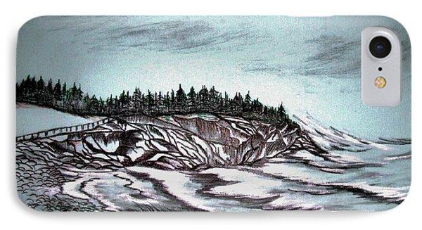 Oven's Park Nova Scotia Phone Case by Janice Rae Pariza