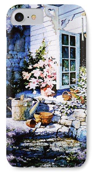 Over Sleepy Garden Walls Phone Case by Hanne Lore Koehler