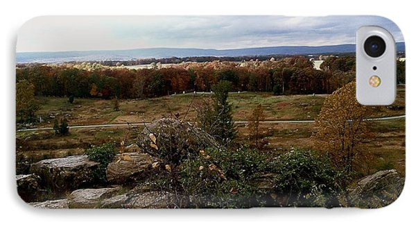 Over The Battle Field Of Gettysburg IPhone Case by Amazing Photographs AKA Christian Wilson