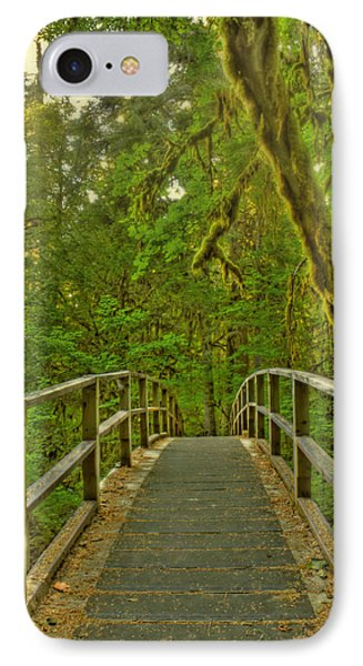 Over The Bridge IPhone Case by Tyra  OBryant