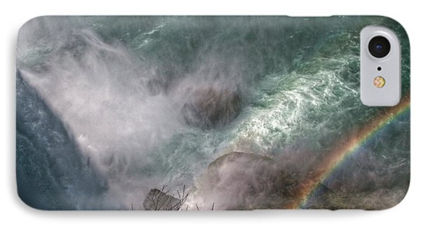 Over The Falls IPhone Case by Linda Unger