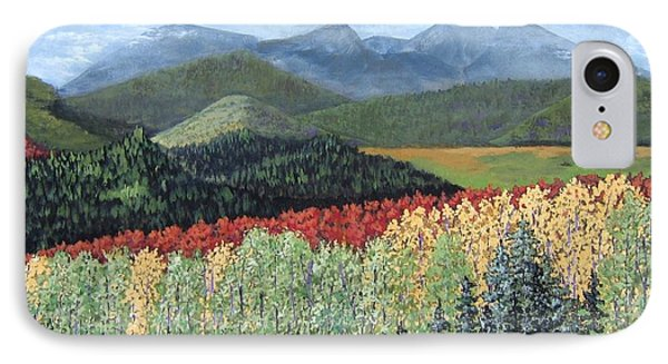 Over The Hills And Through The Woods IPhone Case by Suzanne Theis