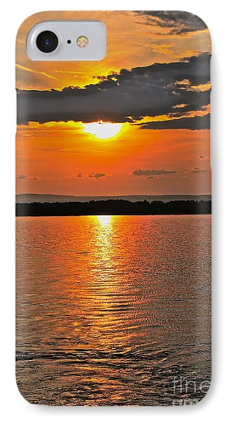 Over The Horizon - No.3474 IPhone Case by Joe Finney