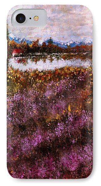 Over The Lavender Field.. IPhone Case