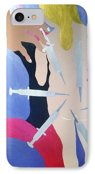 Overdose IPhone Case by Erika Chamberlin