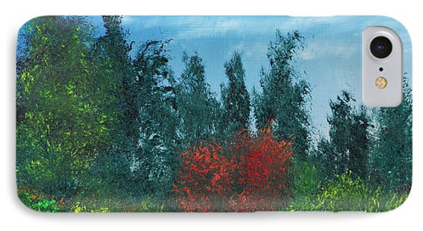 IPhone Case featuring the painting Overgrown by Jennifer Muller