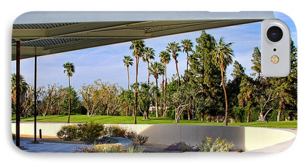 Overhang Palm Springs Tram Station Phone Case by William Dey