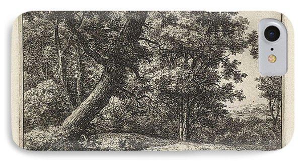 Overhanging Tree, Anthonie Waterloo IPhone Case
