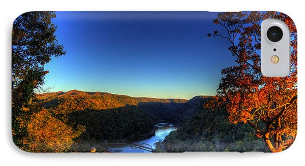 IPhone Case featuring the photograph Overlook In The Fall by Jonny D