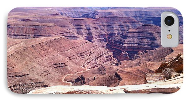 Overlook Into The Layers Of Time IPhone Case by Fortunate Findings Shirley Dickerson