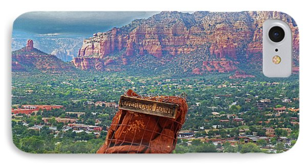 Overlook Point In Sedona Az IPhone Case