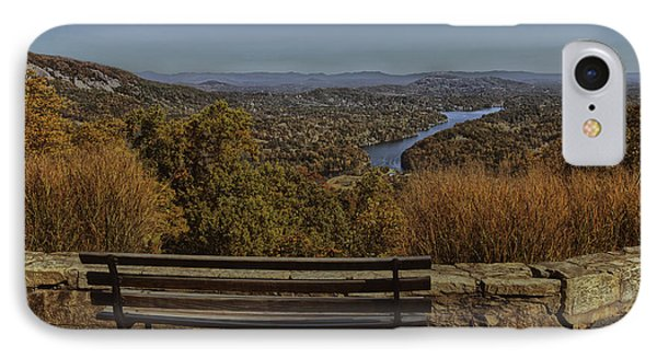 Overlooking Lake Lure IPhone Case