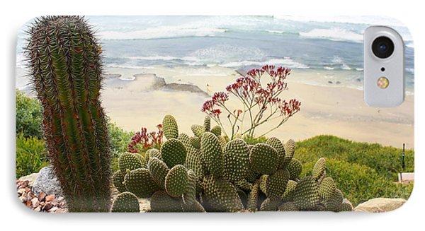 Overlooking San Elijo Beach IPhone Case