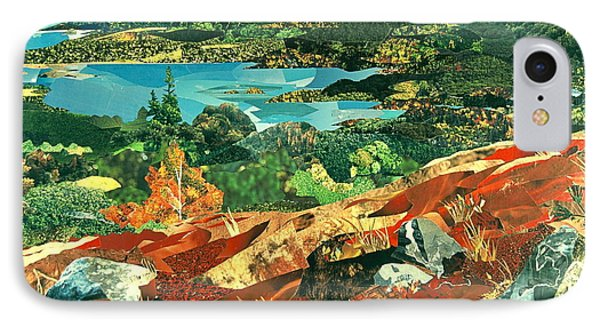 Overlooking The Bay IPhone Case by Robin Birrell