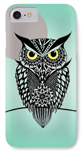 Owl 5 IPhone Case