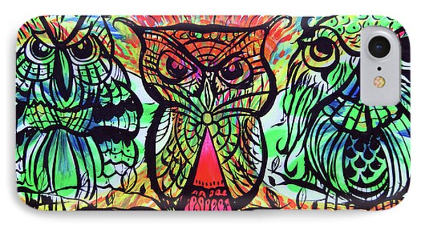 Owl B Watching Phone Case by Lorinda Fore and Tony Lima
