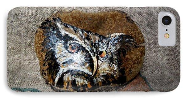 Owl Phone Case by Ildiko Decsei