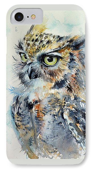 Owl IPhone Case by Kovacs Anna Brigitta
