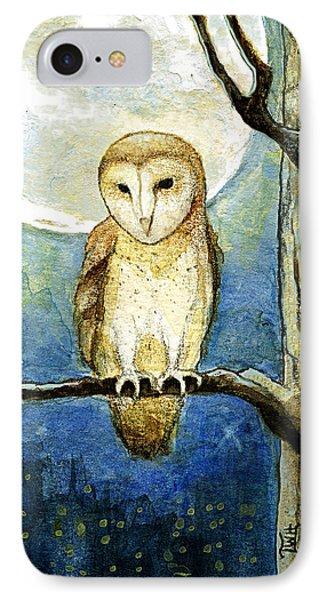Owl Moon IPhone Case by Terry Webb Harshman