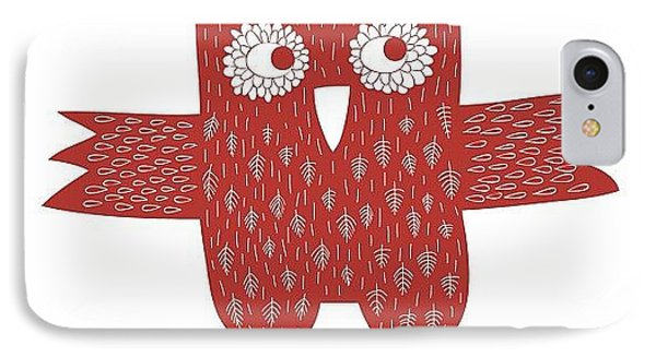 Owl IPhone Case by Nic Squirrell