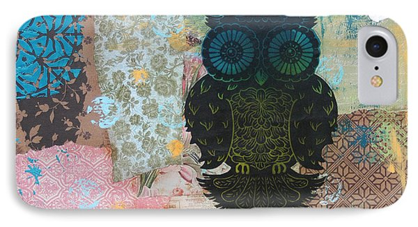 Owl Of Style Phone Case by Kyle Wood