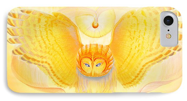 Owl Touching The Medicine Song IPhone Case
