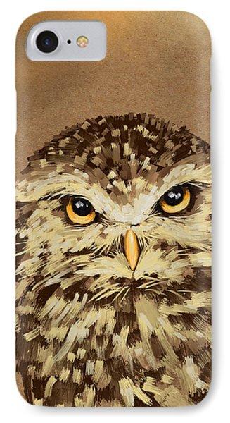 Owl IPhone Case by Veronica Minozzi